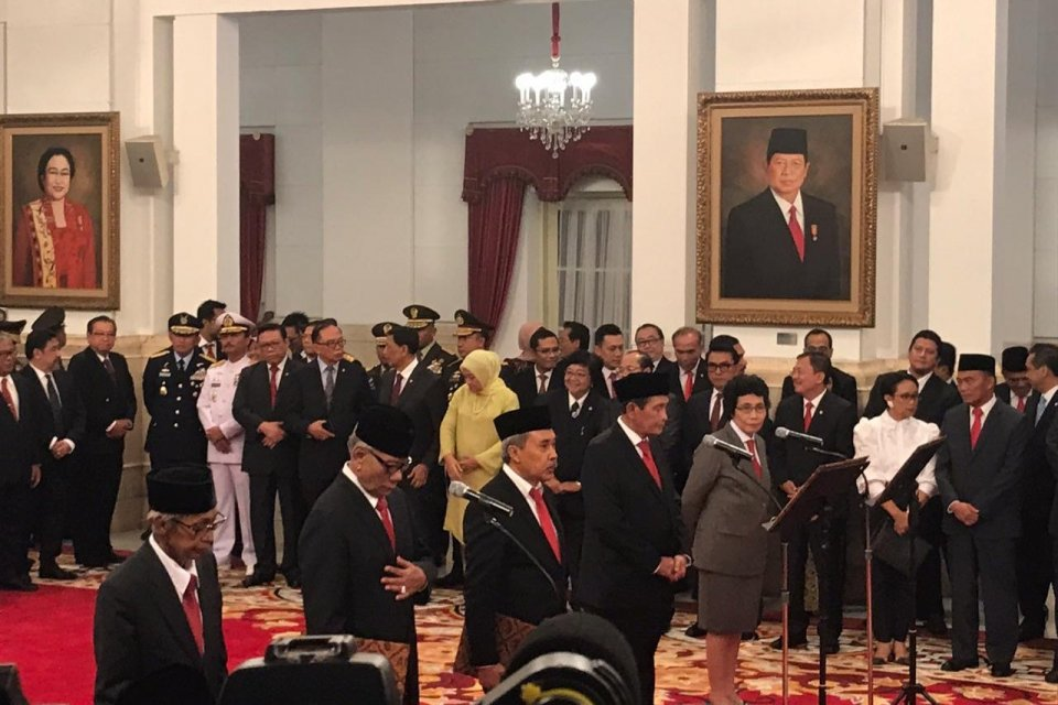Jokowi Tunjuk Tumpak Panggabean Jadi Ketua Dewan Pengawas