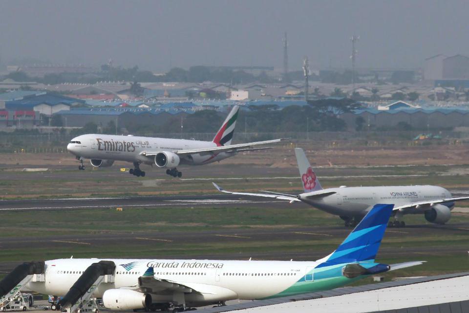 bandara soetta, bandara halim, jakarta banjir