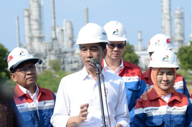 Jokowi, Tuban Petrochemical, Kilang TPPI, Pertamina