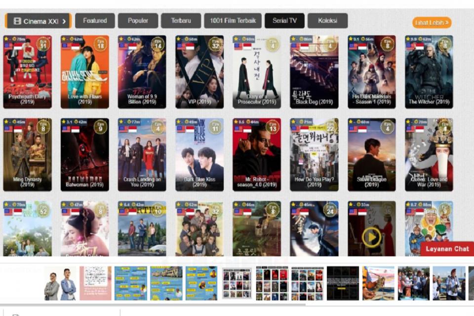 Kominfo, streaming film, IndoXXI,