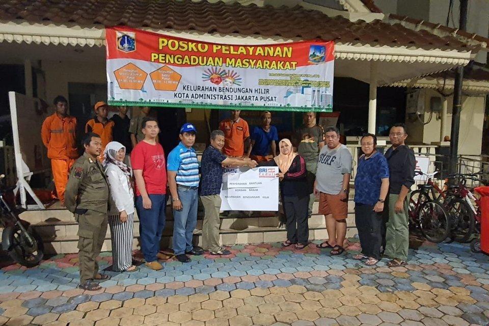 BRI - Posko Pelayanan Pengaduan Banjir Jakarta