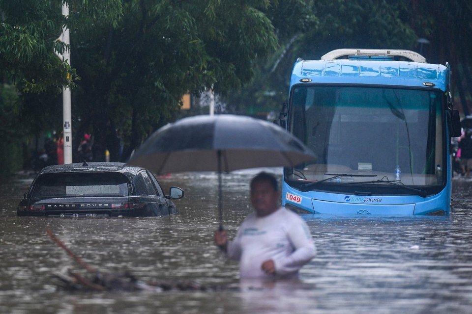 banjir Jakarta, ganjil genap, polda metro