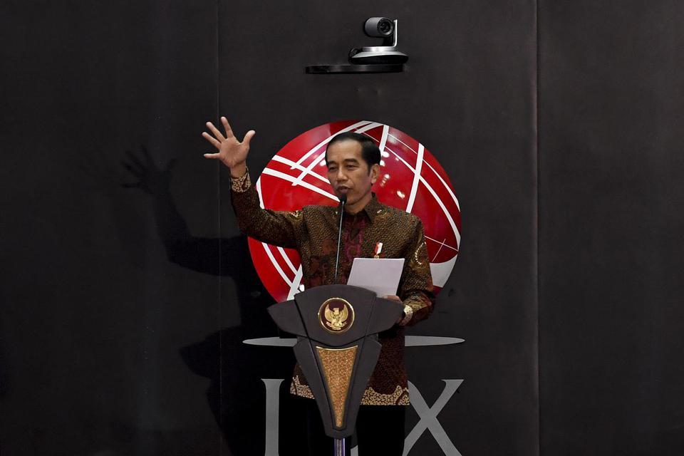 Jokowi Bangga Indonesia Negara Paling Diminati Pemodal Asing pada 2020