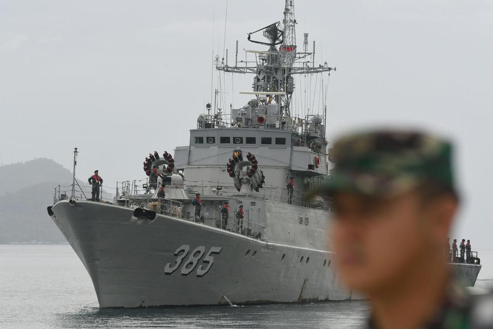 Pemerintah Berencana Bangun Pangkalan Militer di Laut Natuna