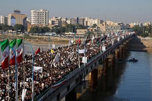 IRAQ-SECURITY/BLAST-SOLEIMANI FUNERAL