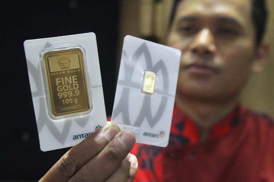 harga emas, amerika serikat