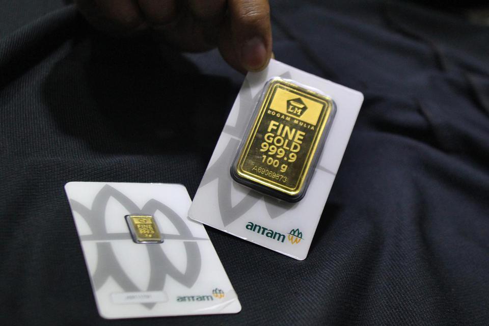 harga emas antam, harga emas, harga emas hari ini, logam mulia antam