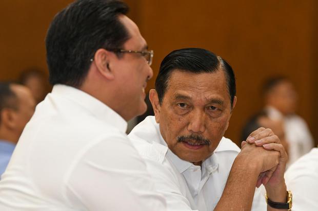 Didesak Jokowi, Luhut Janji Harga Gas Bisa Turun 3 Bulan.