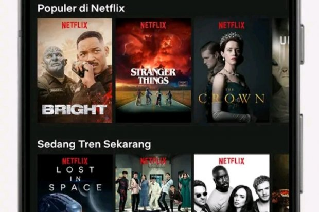 streaming film, film, netflix, android, aplikasi streaming film