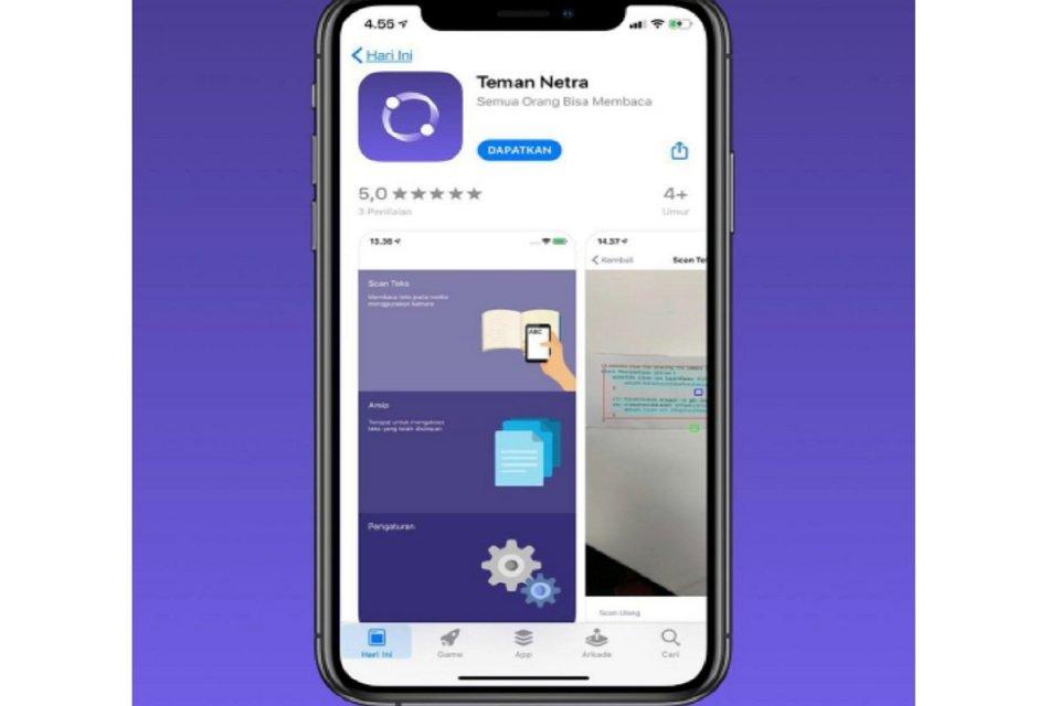Lulusan Akademi Apple Buat Aplikasi Mudahkan Tunanetra Berbelanja