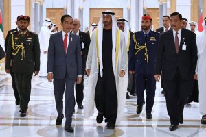 Jokowi dan Putera Mahkota UAE