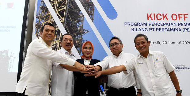 KRAS Kebut Proyek Kilang, Pertamina Rangkul Barata hingga Krakatau Steel - Berita Katadata.co.id