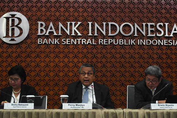 bunga acuan, bank indonesia, tapering off, suku bunga, perry warjiyo