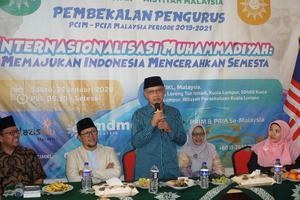 PEMBEKALAN PENGURUS MUHAMMADIYAH MALAYSIA
