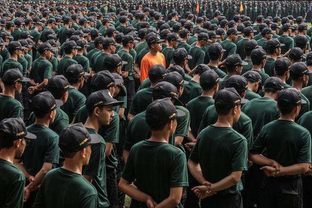 evergreen, program bela negara di kampus, menwa, Wakil Menteri Pertahanan Sakti Wahyu Trenggono