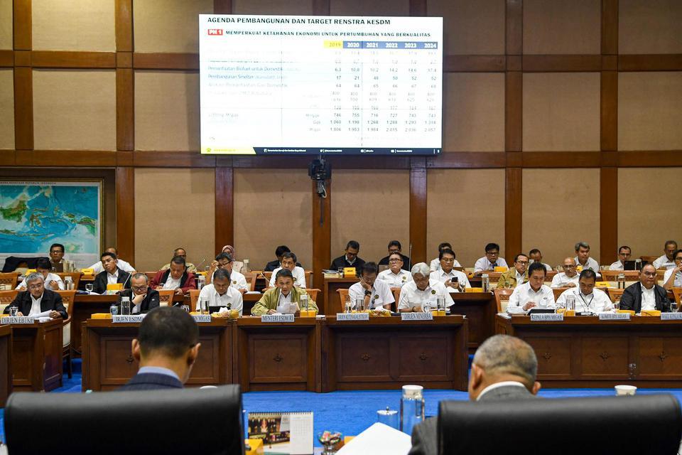 DPR, komisi vii energi, RAPBN 2021
