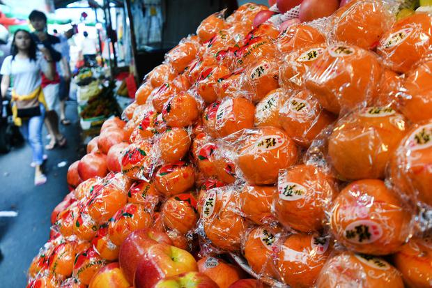 virus corona, buah-buahan, impor, impor tiongkok, tiongkok