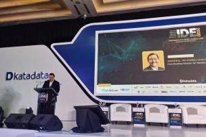 Luhut Binsar Pandjaitan di IDE Katadata 2020