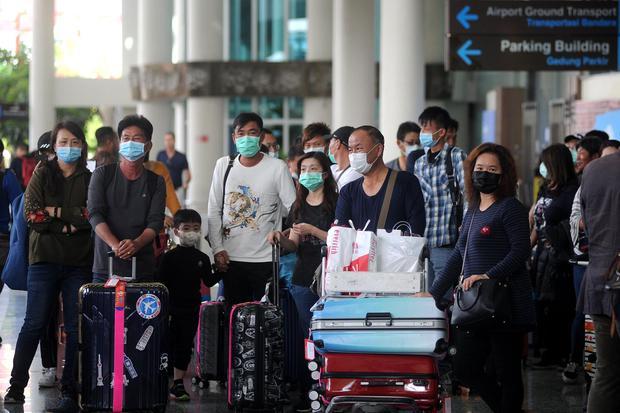 virus corona, pariwisata, jumlah kunjungan wisatawan ke Indonesia 2019, target kunjungan wisatawan ke Indonesia 2020