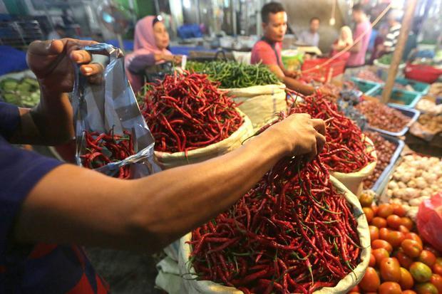 inflasi, volatile food, harga pangan bergejolak, target inflasi