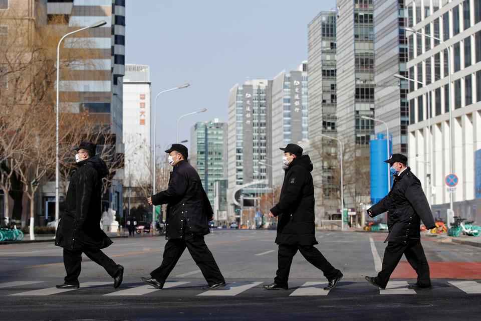 tiongkok, china, pertumbuhan ekonomi, virus corona