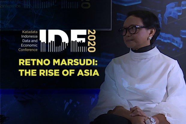 Retno Marsudi soal Kebangkitan Asia dalam Perekonomian Dunia