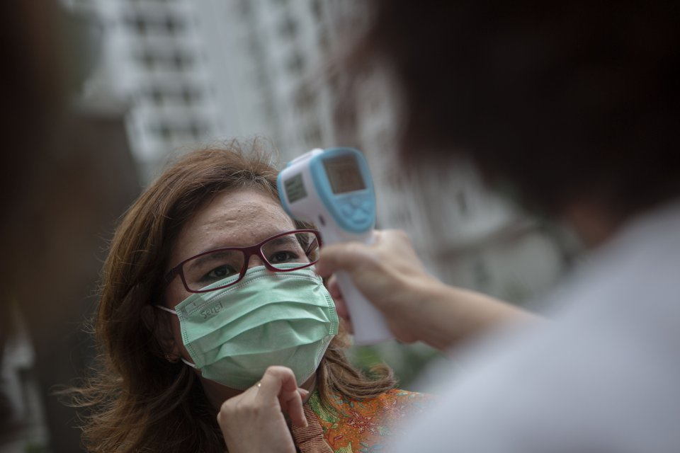 virus corona, singapura naikkan status jadi oranye, kbri singapura