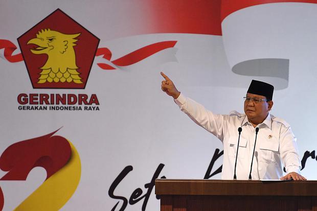 Prabowo subianto, djoko santoso, ketua pemenangan prabowo sandi, partai gerindra