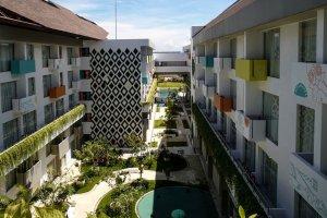 Hotel Tijili Benoa, salah satu hotel milik PT Nara Hotel International.