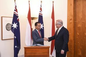 KUNJUNGAN PRESIDEN KE AUSTRALIA
