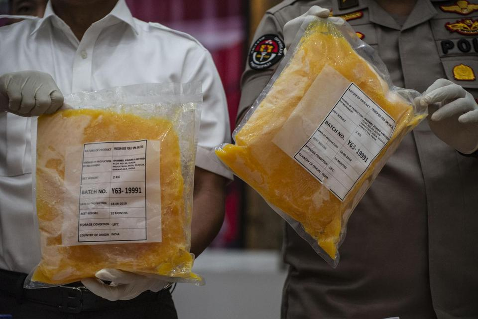 impor kuning telur ilegal, kementerian perdagangan,