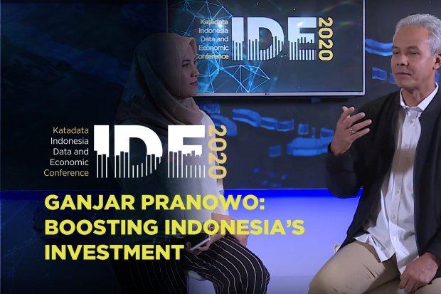Ganjar Pranoowo Strategi Memacu Investasi Jawa Tengah