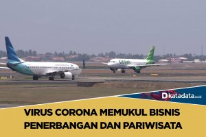 VIrus Corona Memukul Bisnis Penerbangan dan Pariwisata