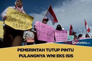 Pemerintah Tutup Pintu Pulangnya WNI Eks ISIS