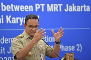 MOU PROYEK PEMBANGUNAN MRT FASE KEDUA