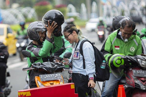 PSBB Jakarta Dibelakukan, Ojek Online Resmi Dilarang Bawa Penumpang .