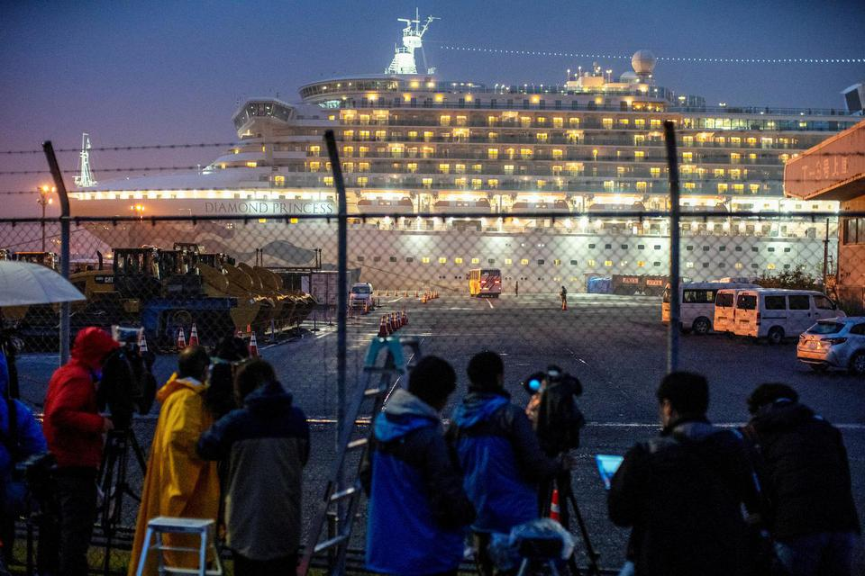diamond princess, virus corona, kapal pesiar