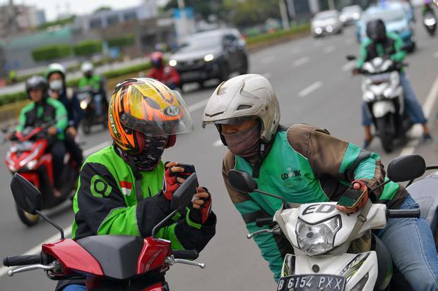 Gojek dan Grab Pakai Geofencing untuk Cegah Mitra Berkerumun saat PSBB