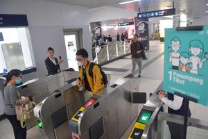 TARGET PENUMPANG MRT JAKARTA TAHUN 2020