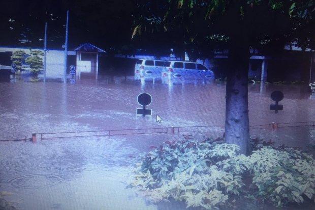 Banjir di Bea Cukai, Jakarta Timur