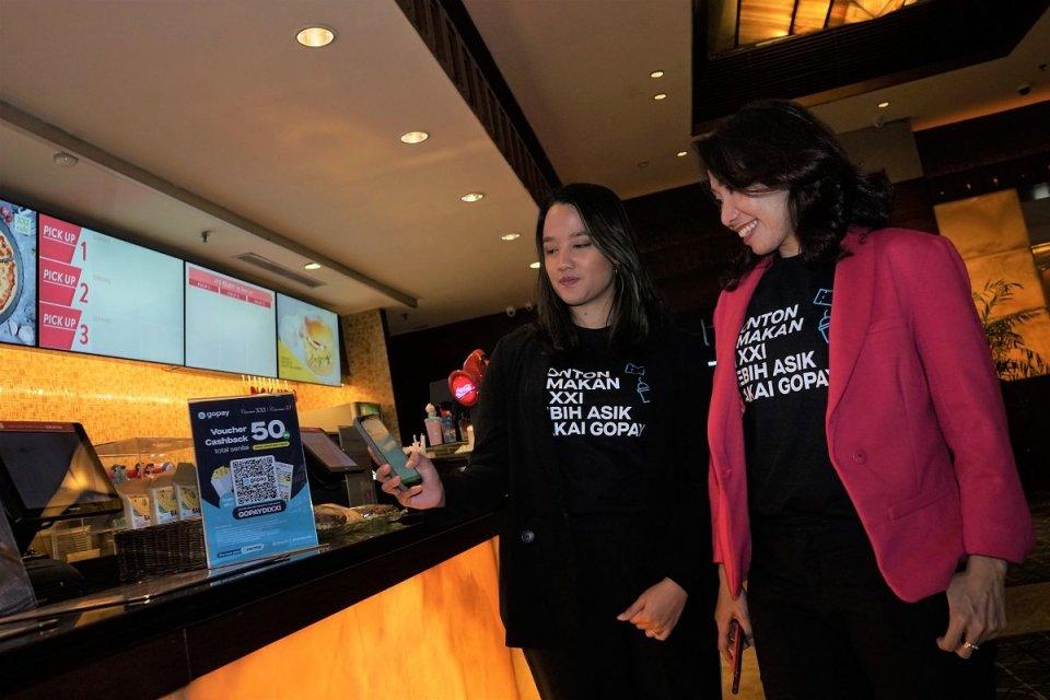 Mengincar Gen Millenial dan Gen Z, Go-Pay Gandeng Cinema XXI
