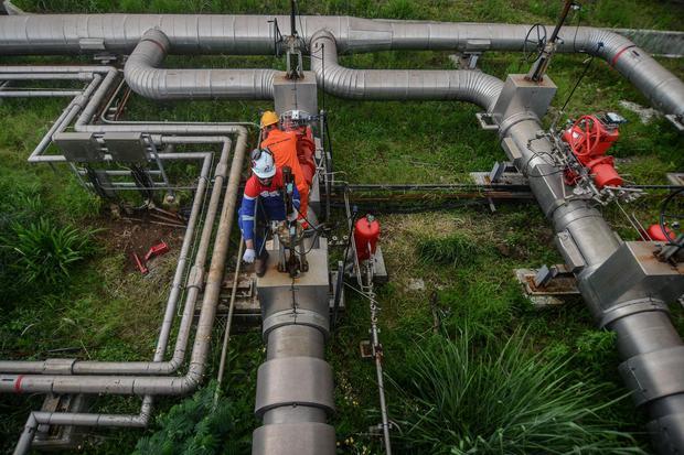 pertamina, cadangan panas bumi, pltp, listrik, pertamina geothermal energy, pge