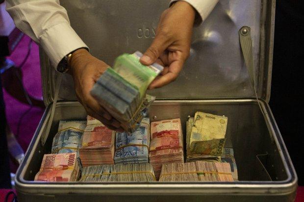 Pemusnahan Uang Palsu