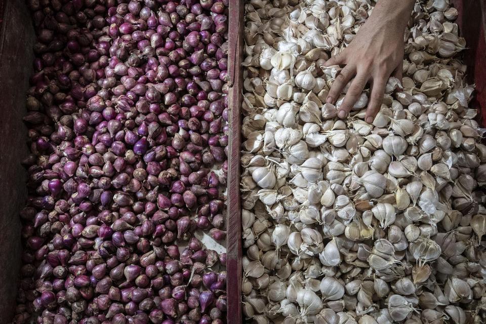 Impor Bawang Bebas Izin, Mendag Sebut Telah Koordinasi dengan Mentan.