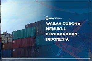 Wabah Corona Memukul Perdagangan Indonesia
