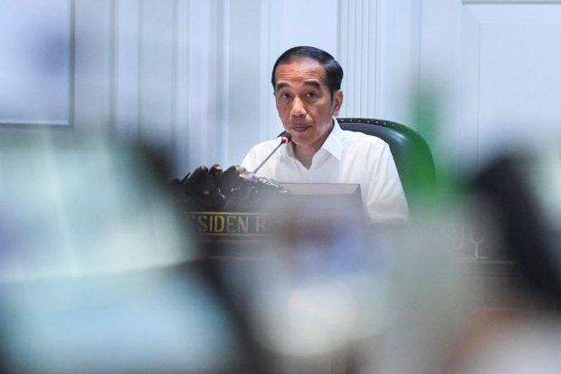 Jokowi, rapat terbatas, rehabilitasi dan rekonstruksi pascagempa, NTB, gampa NTB, virus corona