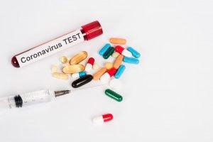 Ilustrasi vaksin antivirus corona