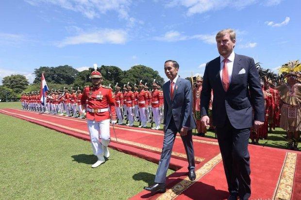 Raja dan Ratu Belanda Bawa 110 Pengusaha Bertemu Presiden Jokowi