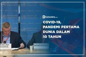 Covid-19, Pandemi Pertama Dunia dalam 10 Tahun