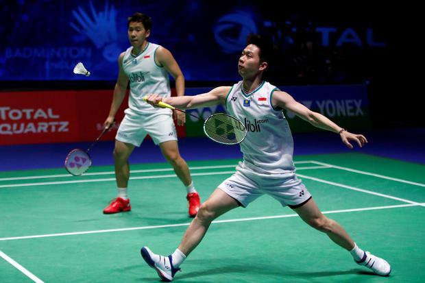 bulu tangkis, covid-19, all england, badminton, covid-19